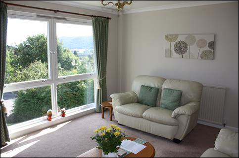 Pitlochry Self-Catering Accommodation - the sitting room
